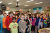 Tom Novitski, a Marine Corps staff sergeant who served during World War II and the Korean War, spoke to fifth-graders at South Elementary School in Trappe. His visit was timed to coincide with the classes' assignments to write thank-you notes for the Honor Flight Network, a program that flies World War II veterans to Washington D.C. to visit the World War II memorial.  As part of the itinerary, the veterans are given notes thanking them for their bravery, service, and sacrifice.<br /> Submitted by Perk Valley School District