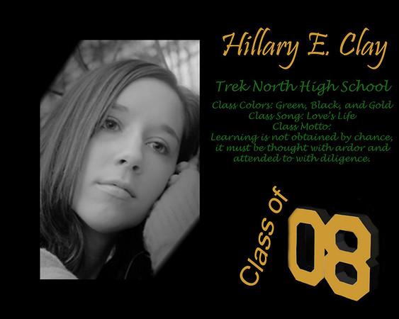 Hillary's grad present