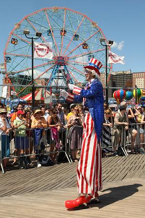 Coney Island Mermaid Parade June 2012
