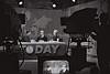 """P.M. LEVY ESHKOL IN THE NBC STUDIO IN NEW YORK    DURING A LIFE TV BROADCAST ON THE TODAY PROGRAM, DURING     VISIT TO U.S.A.<br /> <br /> áé÷åø øàù äîîùìä ìåé àùëåì áàøä""""á.  áöéìåí, øàéåï ùðòøê òí øä""""î áàåìôðé NBC      áðéå éåø÷ ìúëðéú äèìåéæéä """"äéåí"""" äàîøé÷àéú."""