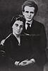 PAULA MONBAS AND DAVID BEN GURION BEFORE THEIR    WEDDING IN NEW YORK.<br /> <br /> ôåìä îåðáñ åãåã áï âåøéåï, ìôðé çúåðúí áðéå éåø÷.