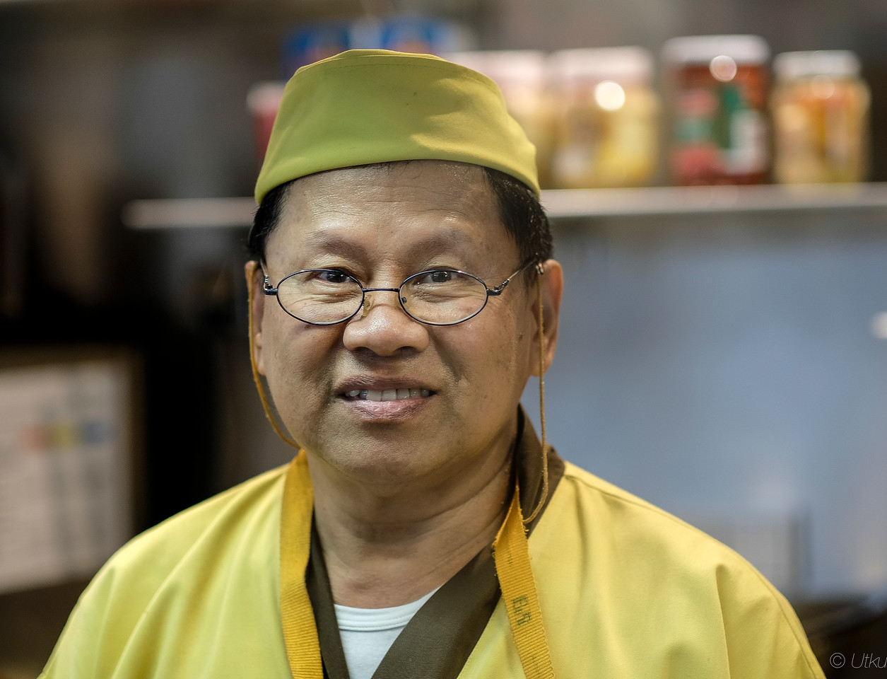 The Chef of Far Eastern Restaurant at Munich Airport