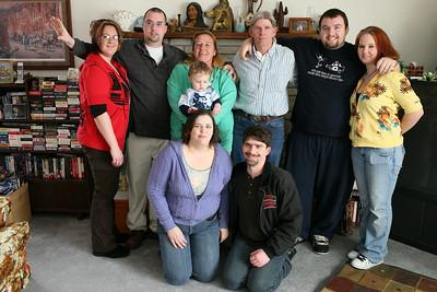 cooper family christmas 2008