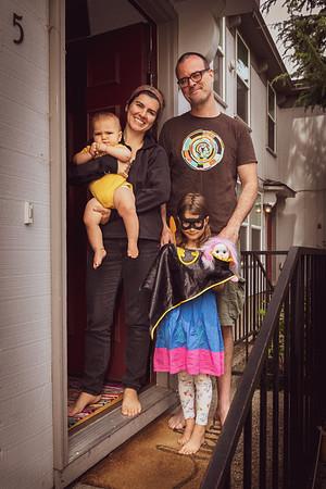 Tim Getman, Gabriela Fernandez-Coffey and family, OSF Actors