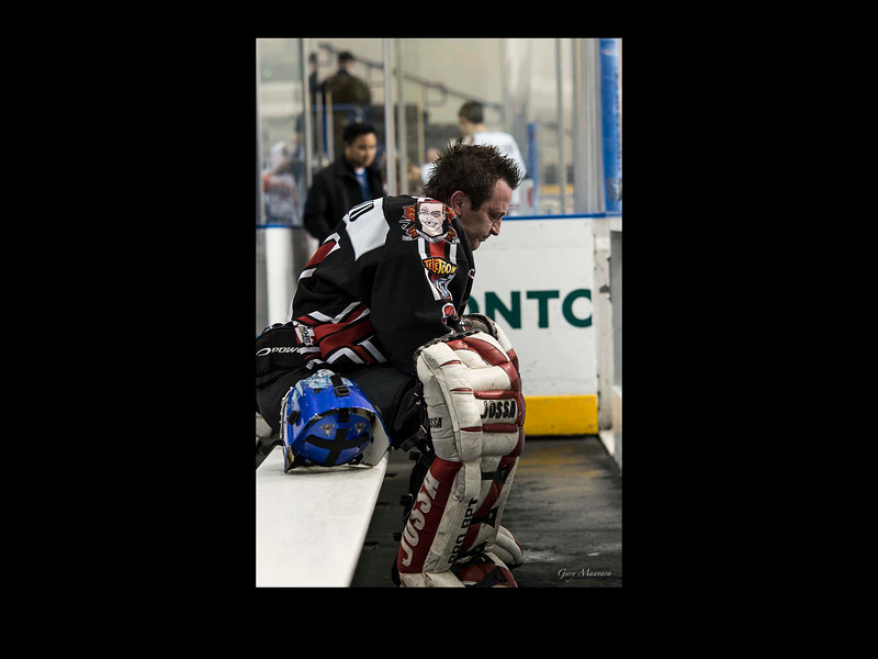 Lonely is the life of a goaltender.