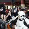 """Date:  3/26/11<br /> Location:  Orlando, FL<br /> """"I, want to rock and roll all night...in a galaxy far far away?""""  Woah, what is a comic convention without a Kiss look-a-like band and making himself the fifth member of the group a Star Wars storm trooper."""