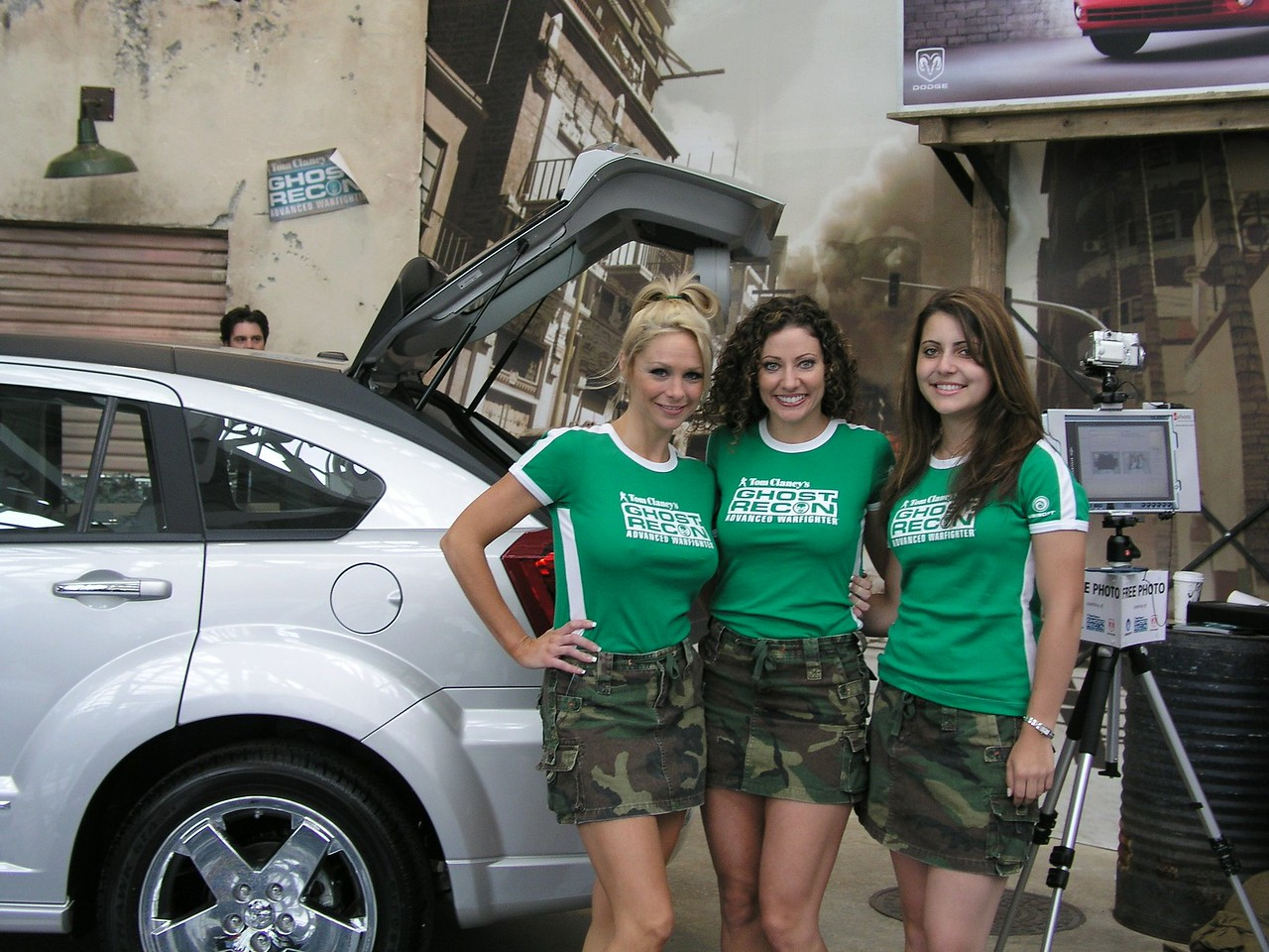 Ghost Recon babes on E3