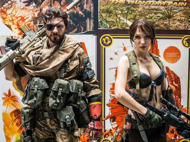 MGS V at Gamescom 2015