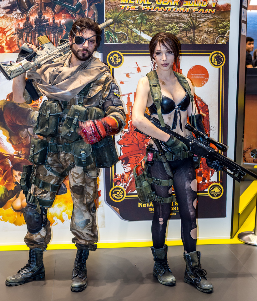 MGS V at Gamescom 2015