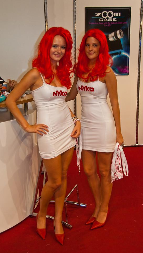 Nyko girls at GamesCom