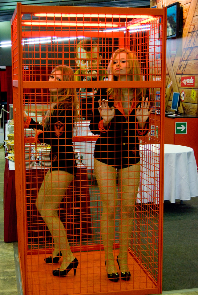 Russobit-M girls on Igromir 2008