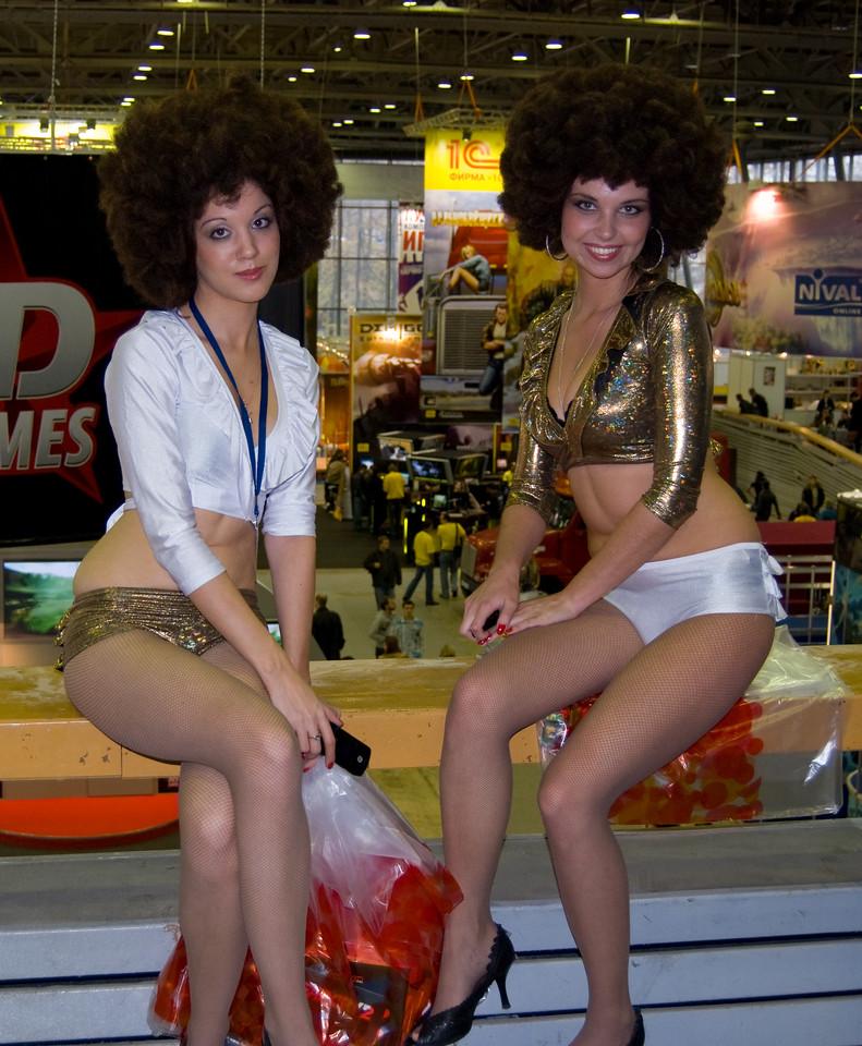 Buka girls on Igromir 2008