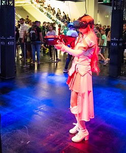 Cosplay in VR
