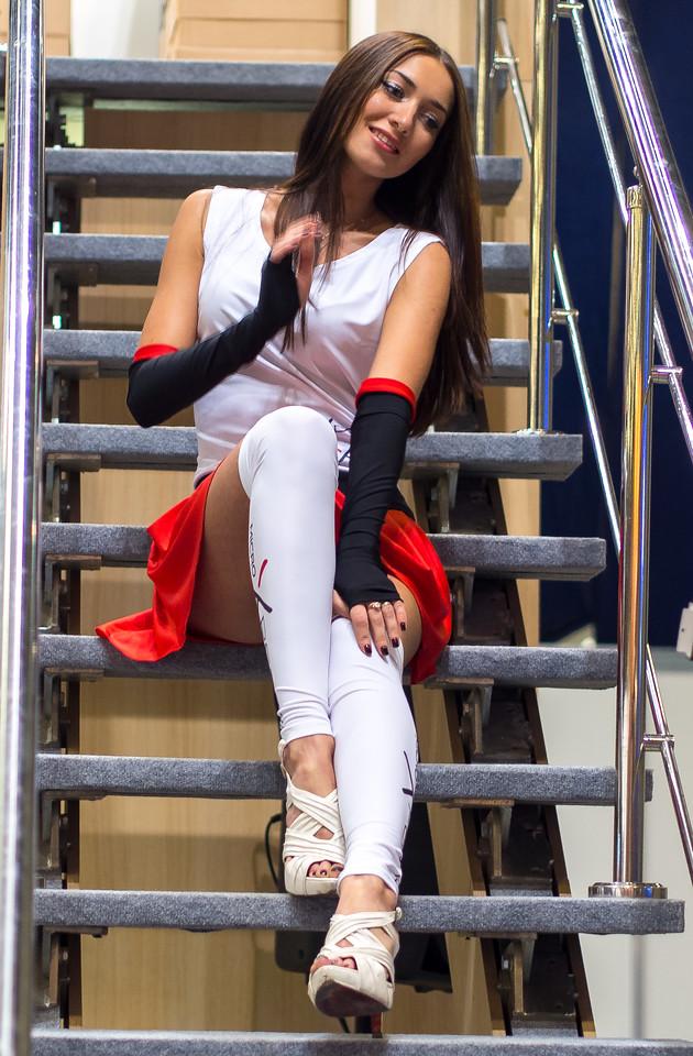 Girl at Igromir 2013