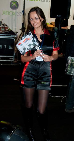 Forza 3 girl at Igromir 2009