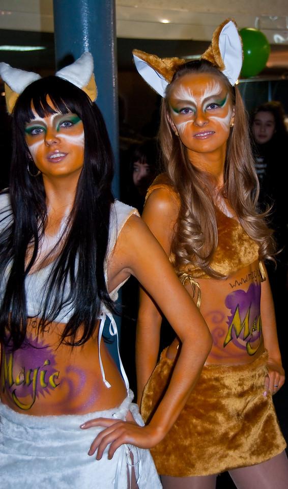 Furry girls at Igromir 2009