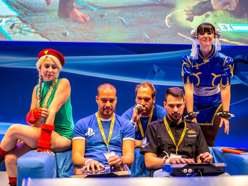Street Fighter V at Gamescom 2015