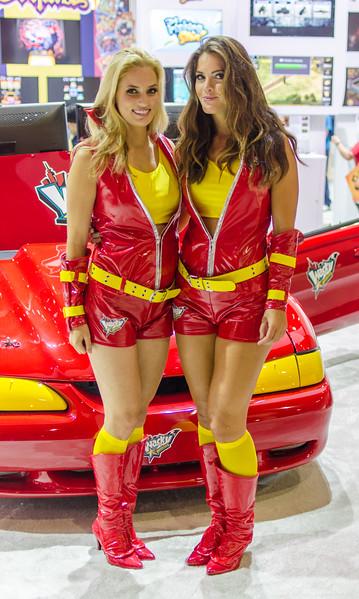 Girls at E3 2012