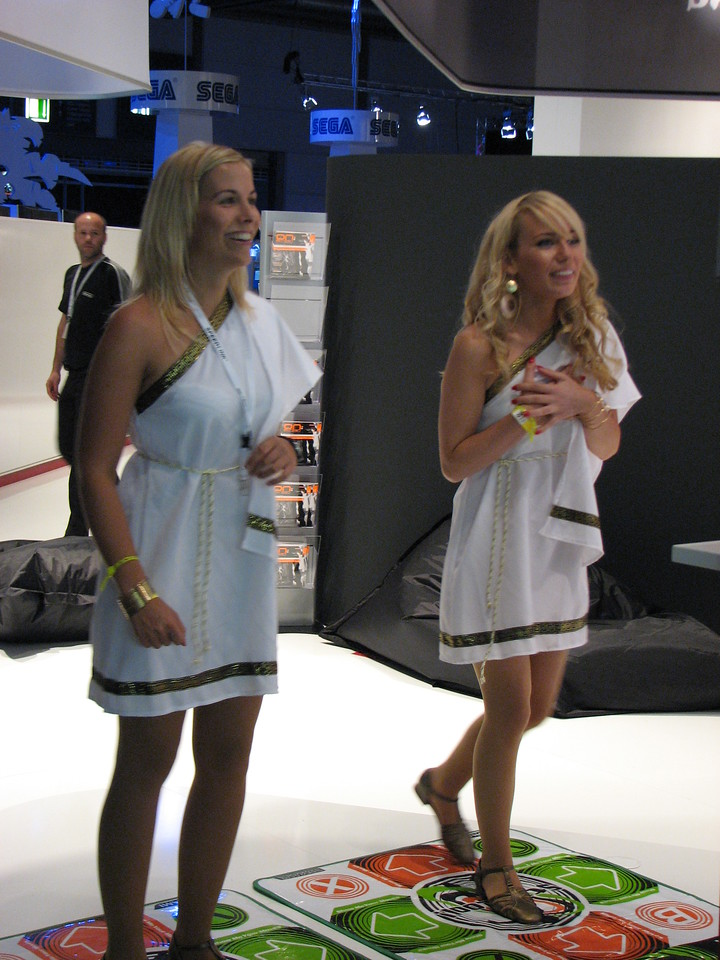 Travian ladies on Games Convention 2008