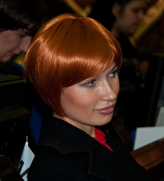 ATI girl at Igromir 2009