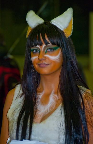 Furry girl at Igromir 2009