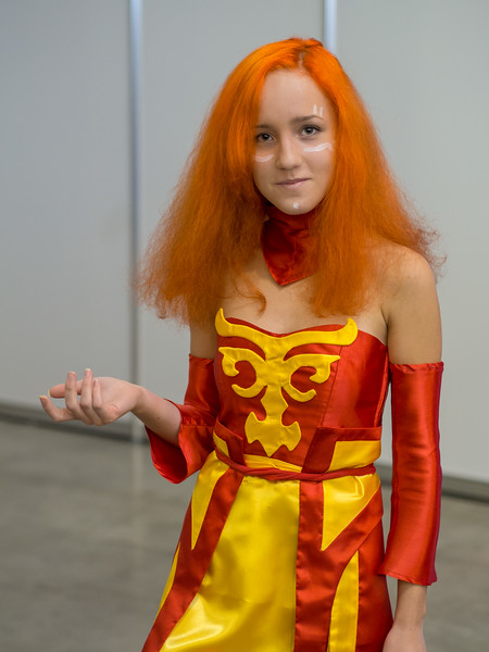 Dota 2 cosplay at Igromir 2013