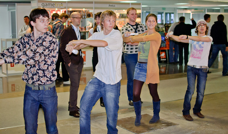 Just Dance 2 at Igromir 2010