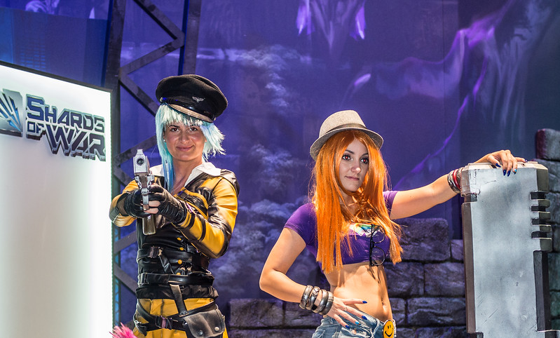Models at Gamescom 2015