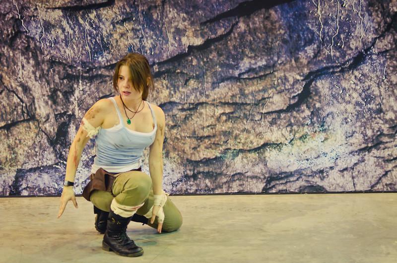 Lara Croft at Igromir 2011