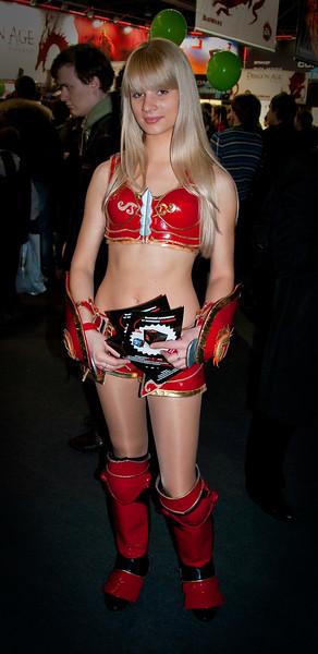 Girl at Igromir 2009