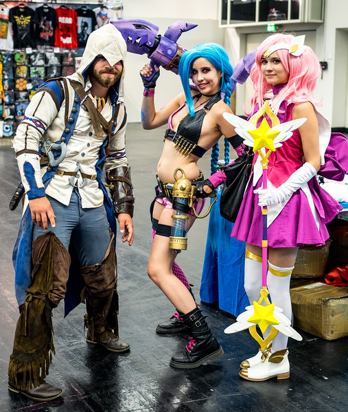 Cosplayers at Gamescom 2015
