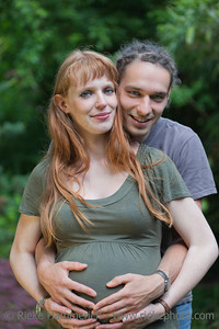Young Couple in a park awaiting a Baby – Germany, Europe