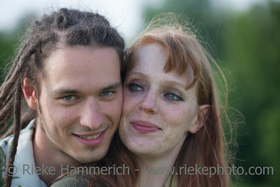 Portrait of Happy Young Couple – Germany, Europe