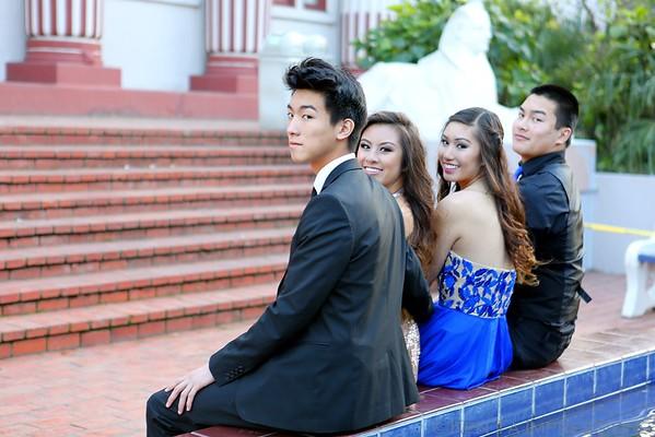Courtney & Friends Junior Prom