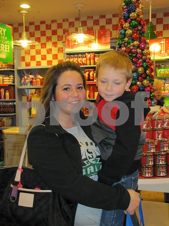 Michelle Westfall and Karter Reed