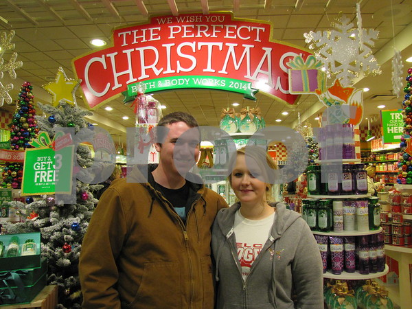 Grant Dillard and Kristin Koenck were out doing some holiday shopping.