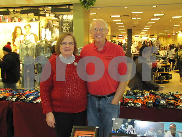 Marilyn and Dave Jensen of the 'Cardboard Closet'.