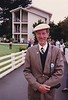John C. Fitch at 1986 Pebble Beach near the Lodge (Photo credit: Larry Pfitzenmaier)