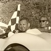 Walt Hansgen & Ed Crawford in a Lister-Jaguar BHL-102 at Road America 1959 (Photo credit: Hansgen Family Collection (photographer unknown))