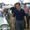 "Briggs Cunningham himself leaves his Ford rental. Source: <a href=""http://www.barcboys.com"">http://www.barcboys.com</a>"