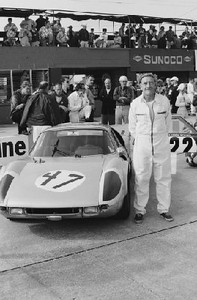 12 Hours of Sebring, 1966. Briggs Cunningham. (Photo credit: Albert R. Bochroch Photograph Collection, Revs Institute)