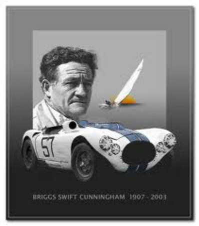 "Briggs Swift Cunningham, Jr. -American road racing icon, distinguished sportsman, competitor and racecar constructor succumbed to complications related to Alzheimer's Disease on July 2, 2003 at the age of 96. ( <a href=""http://www.september8th.com"">http://www.september8th.com</a>)"