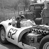 Lister Jaguar at Limerock, CT – B.S. Cunningham in the seat (Photo credit: Unknown)