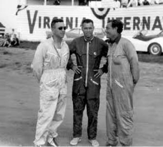 Walt Hansgen, Dick Thompson, & Briggs Cunningham - May 1958 (virhistory.com)