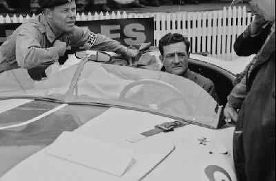 24 Hours of Le Mans, 1951. Briggs Cunningham, Cunningham C-2R (Photo credit: Rudolfo Mailander Photograph Collection, Revs Institute)