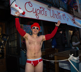 co-founder and organizer of Cupid's Undie Run, Bobby Gill
