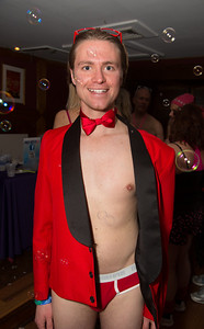 co-founder and organizer of Cupid's Undie Run, Brendan Hanrahan