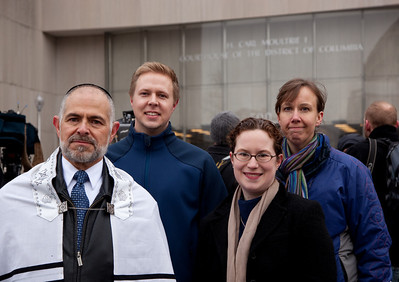 Members of the clergy expect to perform same sex marriages in the near future. Rabbi Arthur Blecher, Rev. Eric Bebber, Rev. Amanda Poppei, Rev. Michele Johns