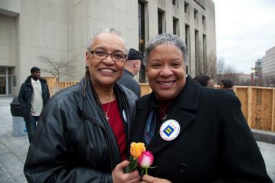Darlene Garner and Candy Holmes, of Washington