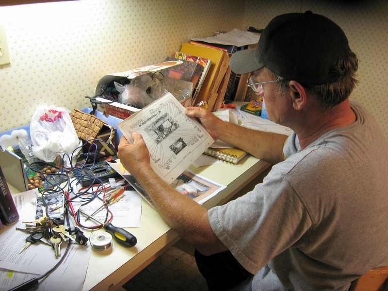 Dad Reading Schematics